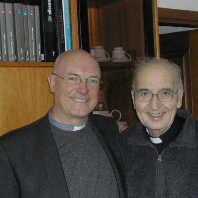 Mons. Giovanni Giudici e Don Leo (14.01.2004)